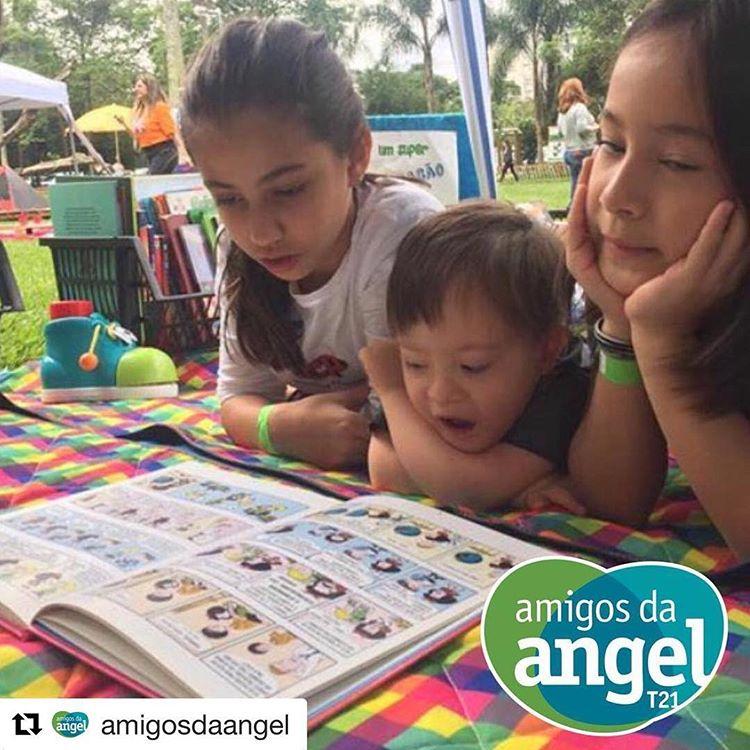 #ProjetoSerendipidade: Amigos da Angel